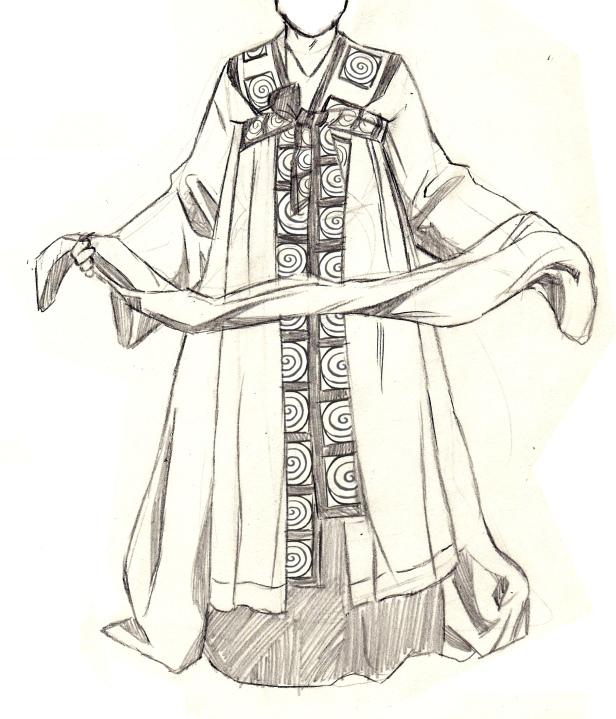 Shaman's dress